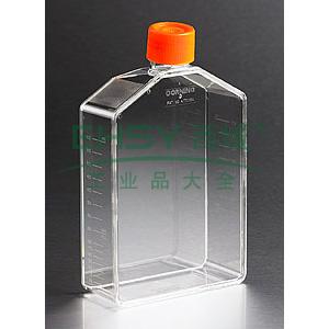 培养瓶,225cm²,直角角度颈,密封盖,PS材质,灭菌,大包装,5个/包