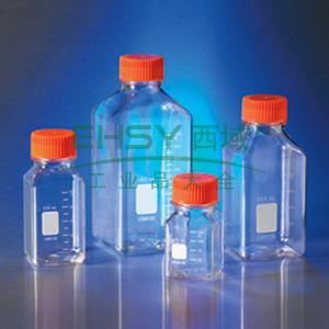 250ml方形瓶,PET材质,45mm盖,12个/包