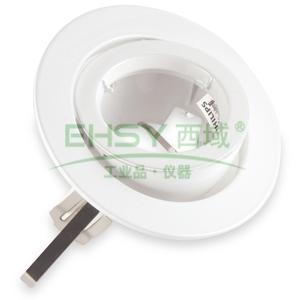 飞利浦 舒乐系列120嵌入式筒灯,QBS050-2 WH,不含光源