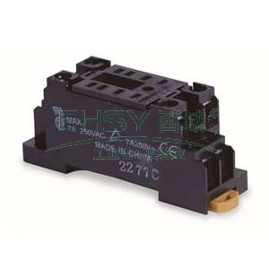 欧姆龙OMRON 通用继电器附件,PYF08A-E BY OMZ