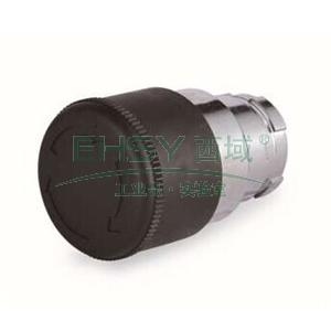 施耐德 金属按钮头,黑色 蘑菇头 30mm