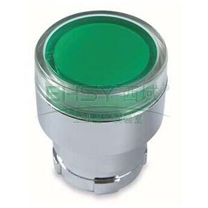 施耐德 XB2 带灯按钮头(平头),ZB2BW33C
