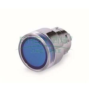 施耐德 XB2 带灯按钮头(平头),ZB2BW36C