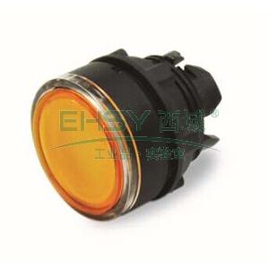 施耐德Schneider 塑料帶燈按鈕頭,ZB5AW353C 黃色