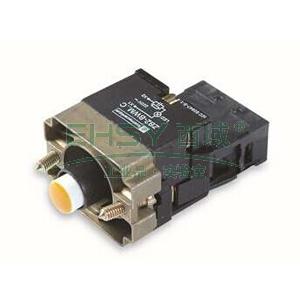 施耐德 XB2 带灯按钮基座(24VDC),ZB2BWB51C