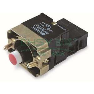 施耐德 XB2 带灯按钮基座(220VAC),ZB2BWM41C