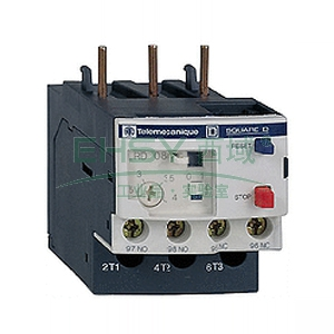 施耐德 热过载继电器,LRD16C 9-13A
