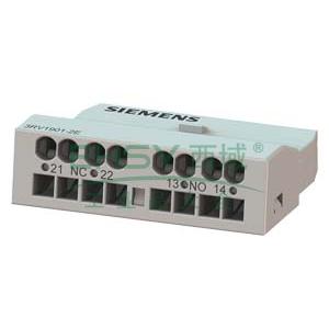 西门子 电机保护断路器附件,3RV19012E