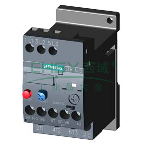西门子SIEMENS 热过载继电器,3RU61161EB1