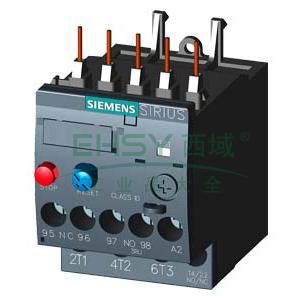 西门子SIEMENS 热过载继电器,3RU61164AB0