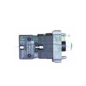 施耐德 XB2 带灯按钮基座(24VDC),ZB2BWB42C
