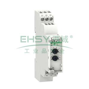 施耐德Schneider 相序和电压控制继电器,RM17TU00