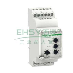 施耐德 电压控制继电器,RM35UB330