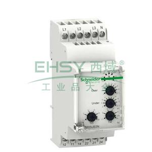 施耐德 电压控制继电器,RM35UB3N30