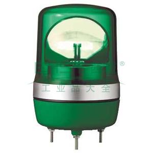 施耐德 旋转声光报警器,不带蜂鸣器,Φ106m,XVR10B03
