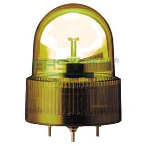 施耐德 旋转声光报警器,不带蜂鸣器,Φ120m,XVR12B05
