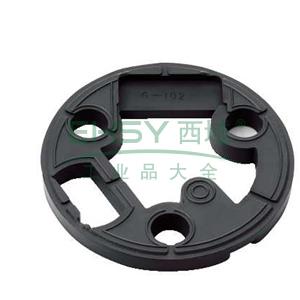 施耐德 橡胶底座,用于提高Φ106mm的旋转声,XVRZ082