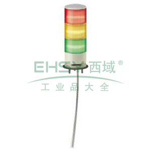 施耐德Schneider 3层灯柱,24V,带蜂鸣器,直接安装,XVGB3SW