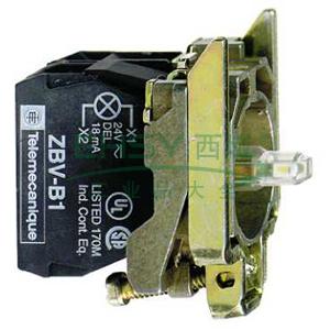 施耐德Schneider 带灯按钮基座,ZB4BW0B31