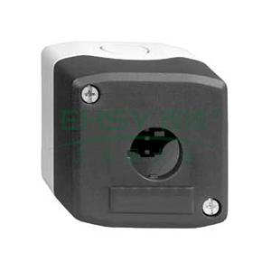 施耐德 IP66空按钮盒(可装 1 个塑料钮),XALD01