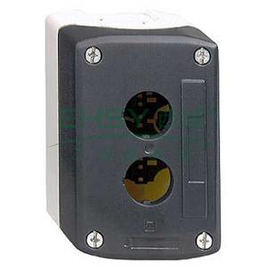 施耐德 IP66空按钮盒(可装 3 个塑料钮),XALD03