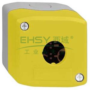 施耐德 IP66空按钮盒(可装 1 个塑料急停),XALK01