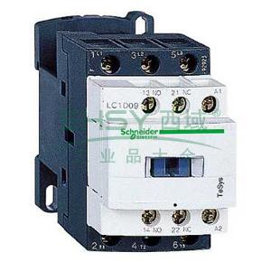 施耐德 交流线圈接触器,LC1D09B7