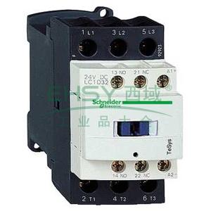 施耐德 直流线圈接触器,LC1D09ED