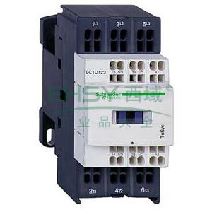 施耐德 直流线圈接触器,LC1D123BD