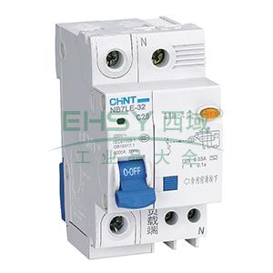 正泰CHINT 微型剩余电流保护断路器 NB7LE-32 1P+N 16A C型 30mA AC