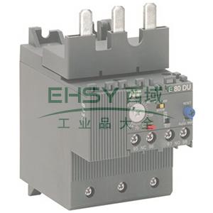 ABB 电子过载继电器,E80DU80A