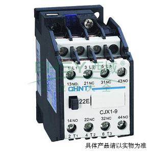 正泰cjx1交流线圈接触器,cjx1-9a ac48v