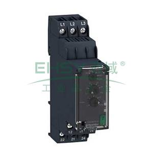 施耐德Schneider 相序控制继电器,RM22TA33