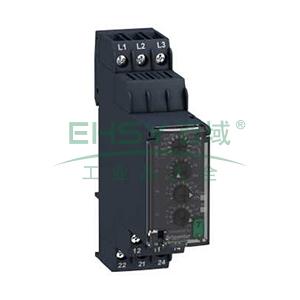 施耐德Schneider 相序控制继电器,RM22TR33