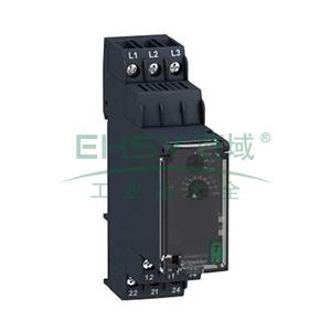 施耐德 相序控制继电器,RM22TU21