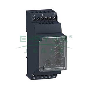 施耐德Schneider 相序和缺相检测继电器,RM35TF30