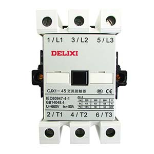德力西DELIXI 交流线圈接触器,CJX1-45/22 110V,CJX14522F