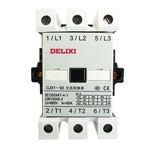 德力西DELIXI 交流线圈接触器,CJX1-63/22 36V,CJX16322C