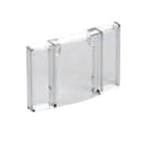 德力西DELIXI CJX2s交流线圈接触器附件,PC95透明防尘盖适用CJX2s-80-95A,PC95