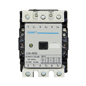 正泰CHINT 交流接触器,CJX1-110/22 220V