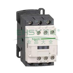 施耐德Schneider TeSys D系列三极接触器,25A,220V,50/60Hz,LC1D25M7