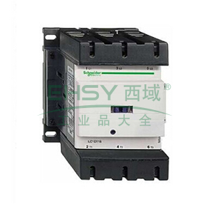 施耐德 交流线圈接触器,lc1d15000q7c 150a,380v,三极