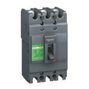 施耐德 塑壳断路器,LV510834 CVS100E TM20D3P3D 配电保护