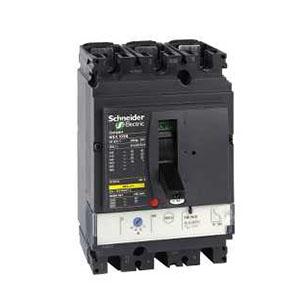 施耐德 塑壳断路器,LV429633 NSX100F TM50D 3P3D 配电保护