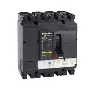 施耐德 塑壳断路器,LV429653 NSX100F TM50D 4P4D 配电保护