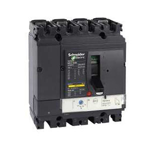 施耐德 塑壳断路器,LV429652 NSX100F TM63D 4P4D 配电保护