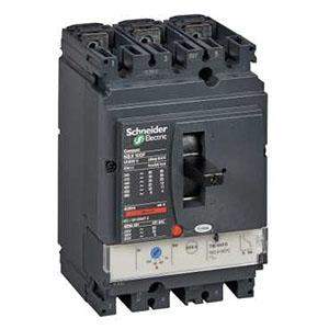 施耐德 塑壳断路器,LV430621 NSX160F TM125D 3P2D 配电保护