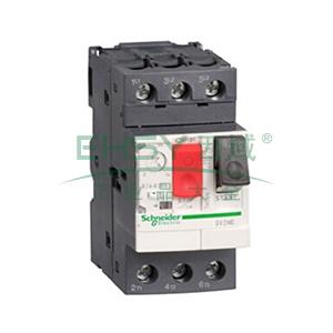 施耐德 电机保护断路器,GV2ME04C,热磁型