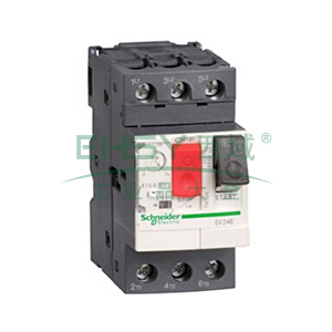 施耐德 电机保护断路器,GV2ME22C,热磁型