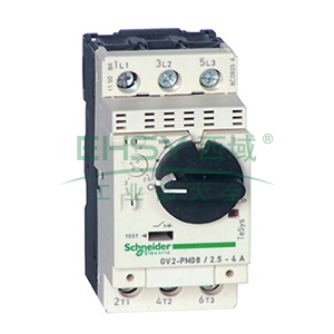 施耐德 电机保护断路器,GV2PM04C,热磁型